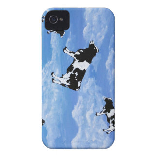 Falling Cows iPhone 4 Case-Mate Hülle