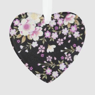 Falln, das rosa Blumen kaskadiert Ornament