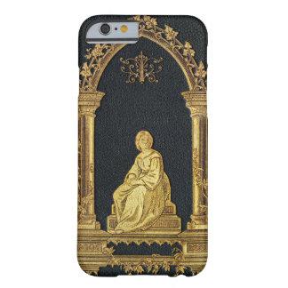 Falln Frau im Goldbucheinband Barely There iPhone 6 Hülle
