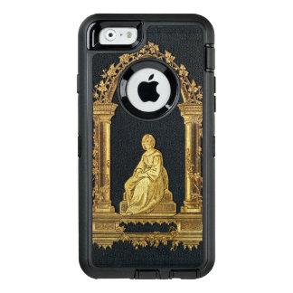 Falln Frau im Goldbucheinband OtterBox iPhone 6/6s Hülle