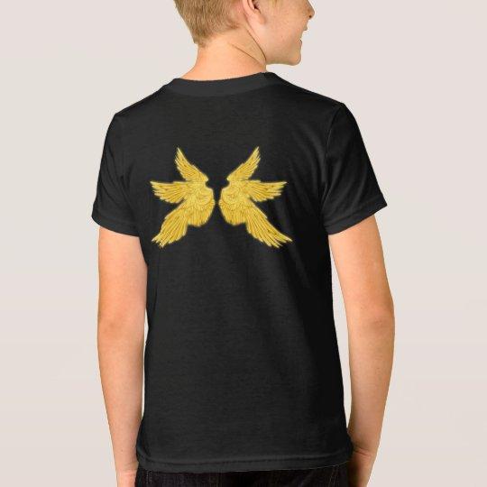 Falln goldene Erzengel-Flügel T-Shirt