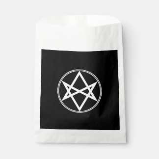 Falln Unicursal Hexagram-Weiß Geschenktütchen