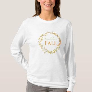 FallWatercolorwreath-Shirt T-Shirt