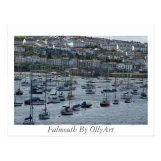 Falmouth durch OllyArt Fotografie Postkarte