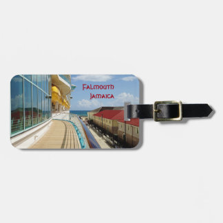 FalmouthDockside personalisiert Kofferanhänger