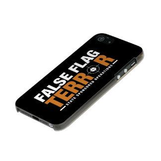 Falscher Flaggen-Terror iPhone 5/5s Fall Incipio Feather® Shine iPhone 5 Hülle