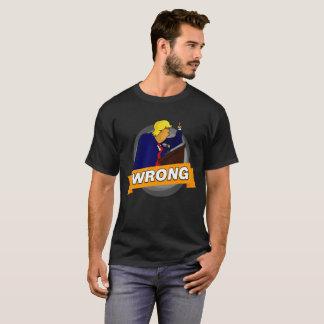 FALSCHES T-Stück Donald Trump T-Shirt