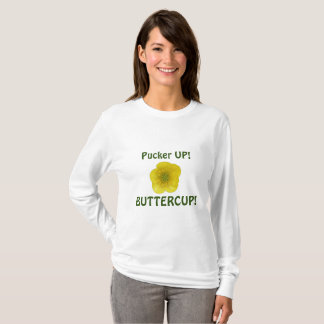 Fältchen herauf Butterblume T-Shirt