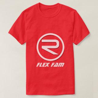 Fam das Flex der Männer ReflexT - Shirt (rot)