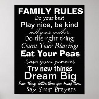 FAMILIE ORDNET #2, Inspiration für eine glückliche Poster