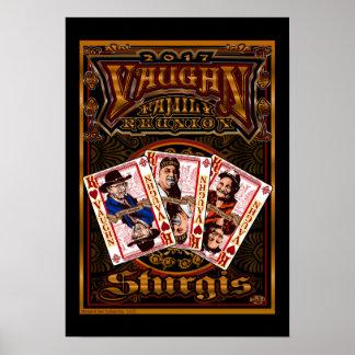 Familie Vaughn Wiedersehen-Plakat Poster