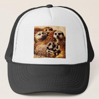 Familie von Meerkats Truckerkappe