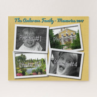 Familien-Erinnerungen 4 kundenspezifische Fotos x