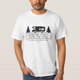 Familien-Ferien-Namen-Autoreise-Camper RV T-Shirt