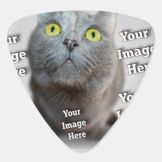 Familien-Haustier-Bild-Schablone Plektrum