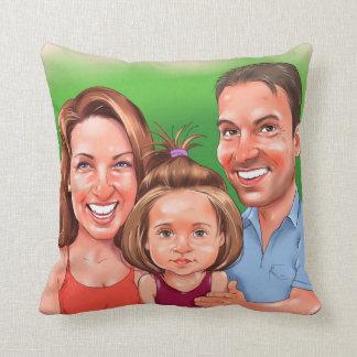 Familien-Kissen Kissen