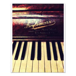 Familien-Klavier Fotografische Drucke