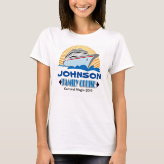 Familien-Kreuzfahrt-T - Shirt