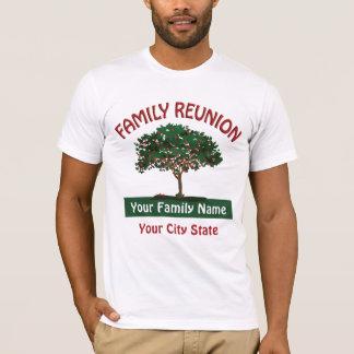 Familien-Wiedersehen-Apfelbaum-T - Shirt