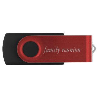 Familien-Wiedersehen Blitz-Antrieb Swivel USB Stick 2.0