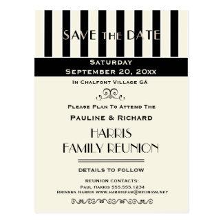 Familien-Wiedersehen, Party, Ereignis Save the Postkarte
