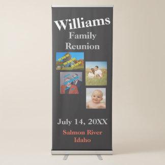 Familien-Wiedersehen schaffen Ihre Selbst Ausziehbarer Banner