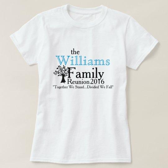 Familien-Wiedersehen u. Baum T-Shirt