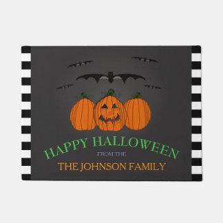 Familienname: Glückliche Halloween-Tür-Matte Türmatte
