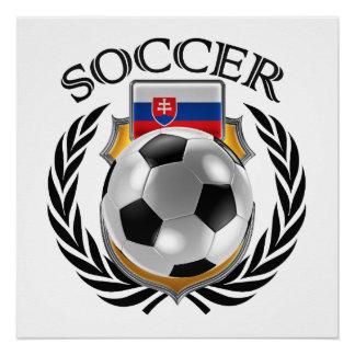 Fan-Gang Slowakei-Fußball-2016 Poster