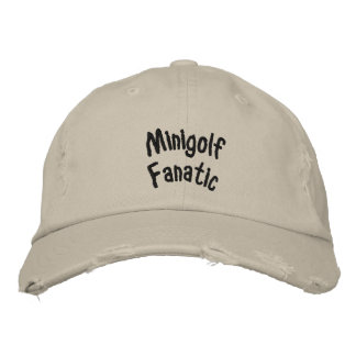 Fanatique de Minigolf Chapeau Brodé