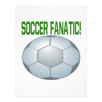 Fanatique du football prospectus customisé