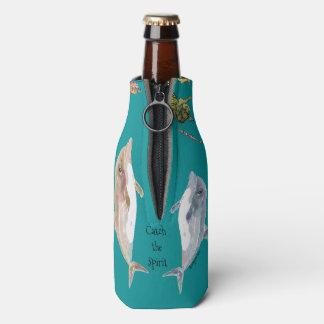 Fangen Sie den Geist-Delphin-Fisch-Ozean Flaschenkühler