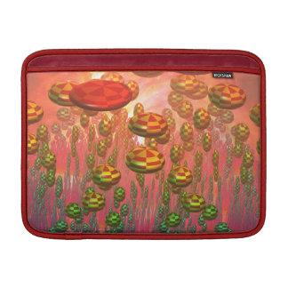 Fantasie-aliengarten MacBook Sleeve