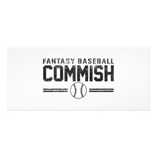 Fantasie-Baseball Commish 12,2 X 22,9 Cm Kartendruck