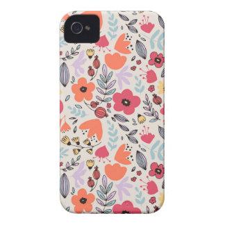 Fantasie-Blumen iPhone 4 Hülle