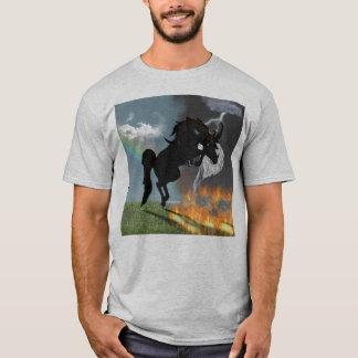 Fantasie-Dämon-Engels-Pferdegeschöpf T-Shirt