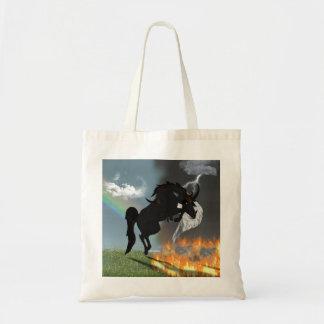 Fantasie-Dämon-Engels-Pferdegeschöpf Tragetasche