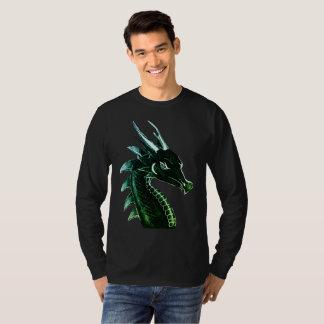 Fantasie-Drache-Kopf-Vorlagen-Kunst T-Shirt