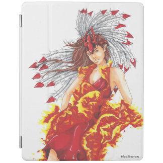 Fantasie-Feuer-Elf elementarer iPad Fall iPad Hülle