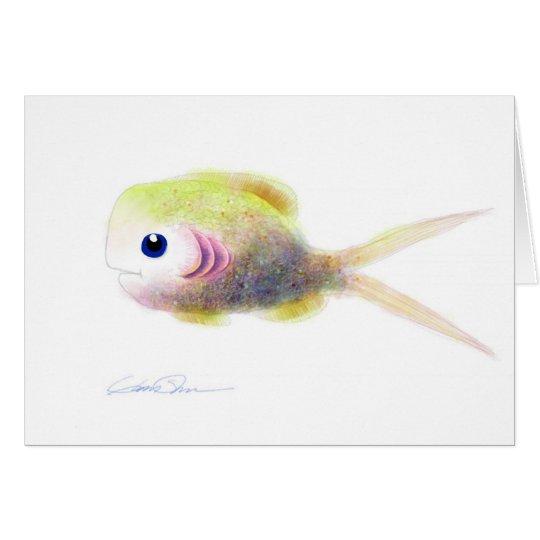 Fantasie-Fische: Gilly Grußkarte