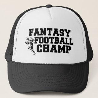 Fantasie-Fußball-Championshut Truckerkappe