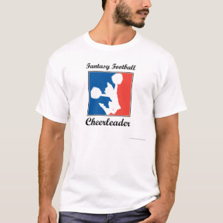 Fantasie-Fußball-Cheerleader T-Shirt