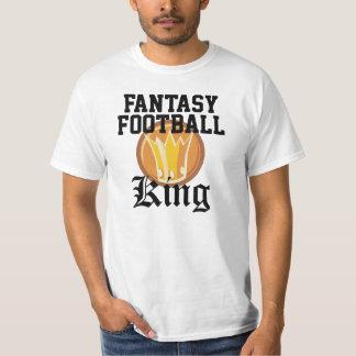 Fantasie-Fußball-König T-Shirt