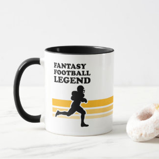 Fantasie-Fußball-Legenden-Kaffee-Tasse Tasse