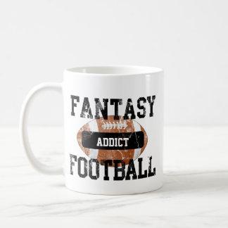 Fantasie-Fußball-Süchtiger Kaffeetasse