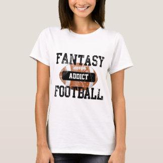 Fantasie-Fußball-Süchtiger T-Shirt