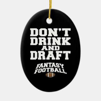 Fantasie-Fußball trinken nicht und zeichnen Keramik Ornament