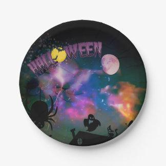 Fantasie-Halloween-Party-Papier-Teller Pappteller