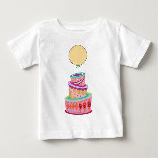 Fantasie-Kuchen-Schablone Baby T-shirt