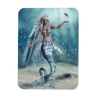 Fantasie-Meerjungfrau Flexi Magnet